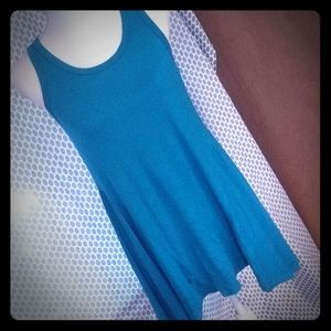 New teal tunic top